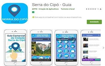 Criação de Aplicativos para Guia da Cidade - A Serra do Cipó