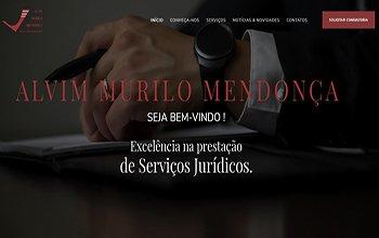 Criação de Sites para escritório de advogados - Alvim Murilo Mendonça