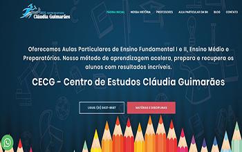 Criação de Sites para Aula Particular - CECG Professor Particular