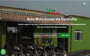 Site Auto Escola Via Pampulha