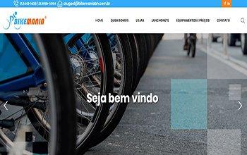 Criação de Sites para Aluguel de Bicicletas em BH – BikemaniaBH