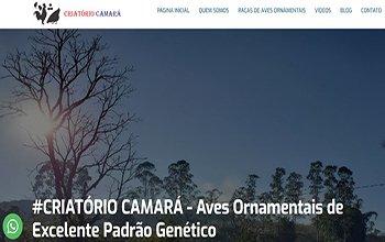 Criação de Sites para Criatórios - Criatório Camará