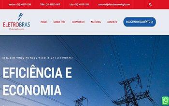 Criação de Sites para Energia Renovável - Eletrobras Tecnologia