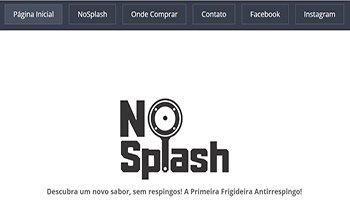 Criação de Sites para Infoprodutos - NosPlash Frigideira Antirrespingo