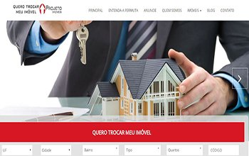 Criação de Sites para locação e Aluguel de imóveis residenciais e comerciais - Quero Trocar Meu Imóvel