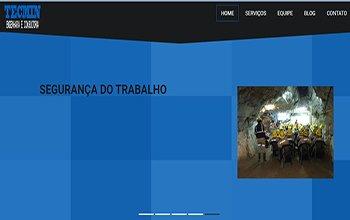 Site Usimor Tecmin Engenharia