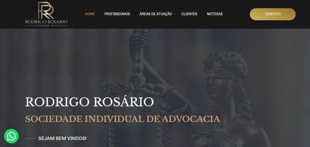 Criação de Sites Escritório Rodrigo Marques Advocacia