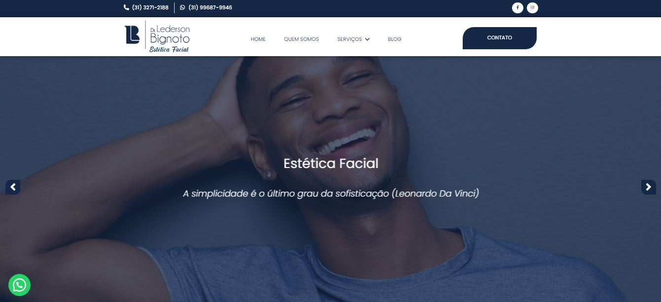 criacao-do-site-bignoto-estetica-facial