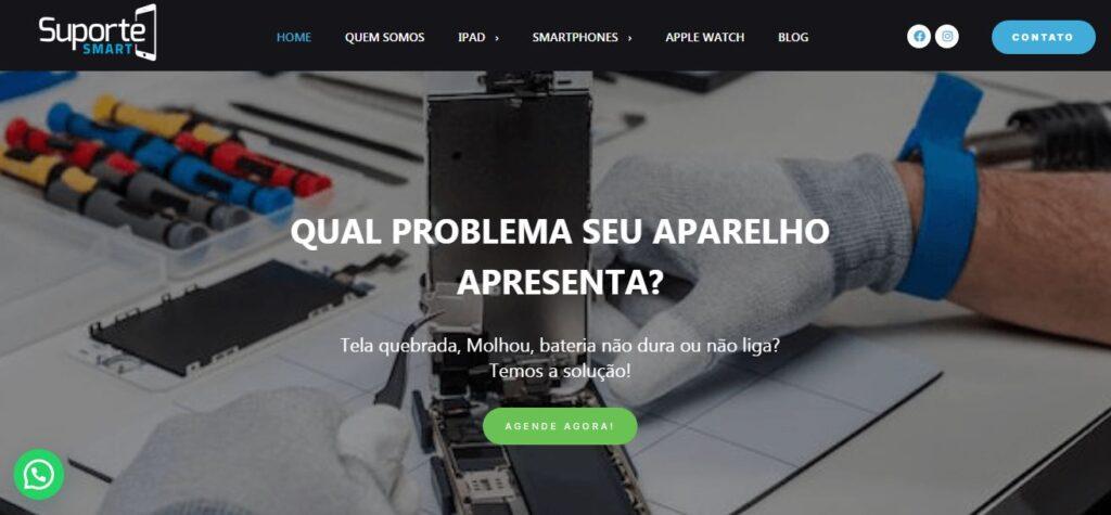 Criação do Site Suporte Smart BH