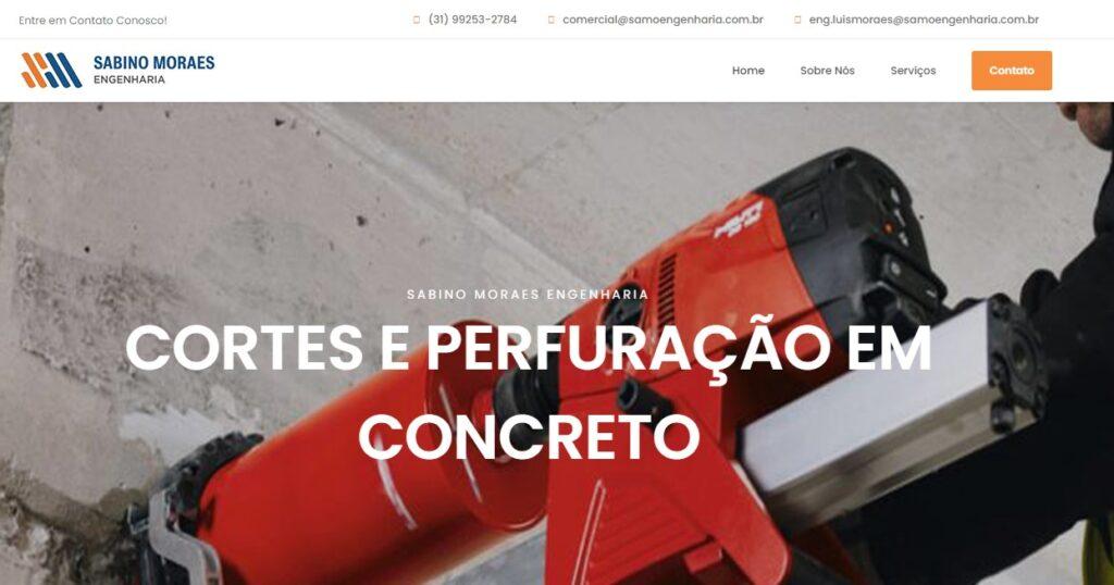 Criação do Site SM Cortes e Furos
