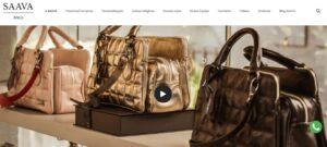 Criação do Site SAAVA BAGS. Desenvolvimento do site para empresa de bolsas e acessórios de couro SAAVA BAGS. Clique e confira!